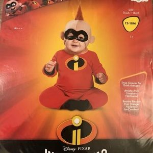 Disney incredibles baby jack costume 12-18 months